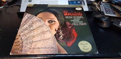 售Mercury RAVEL BOLERO 波麗露PARAY 黑膠 LP
