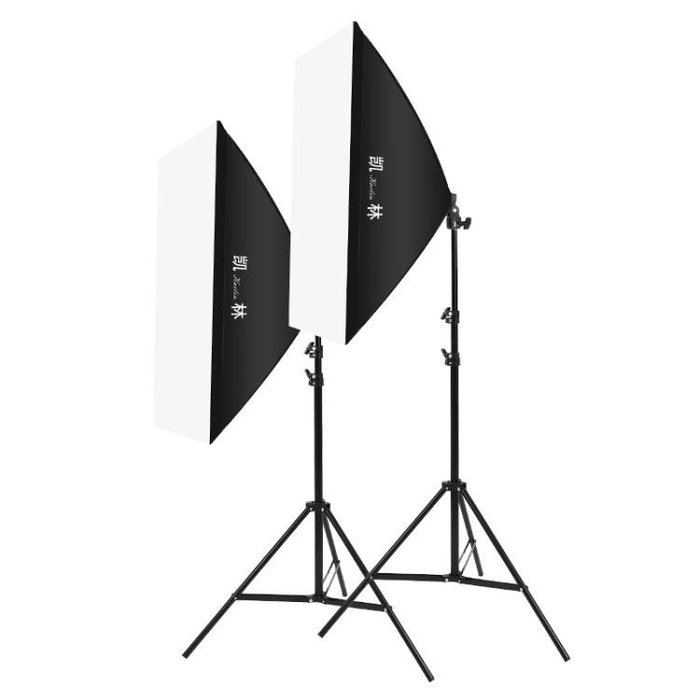 攝影棚補光燈拍照柔光燈箱淘寶產品拍攝道具套裝小型便攜器材
