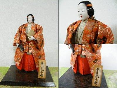 日本 能 置物 和服・・2