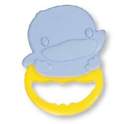 【晴晴百寶盒】KU.KU 酷咕鴨抗菌造型固齒器4M+  台灣母嬰用品 保母嬰兒用品 寶寶可愛禮物禮品 CP值高 K124