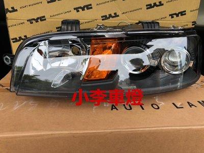 ~李A車燈~全新品 外銷精品件  飛雅特 PUNTO 01-05年 原廠型黑框晶鑽魚眼大燈 一顆2400元