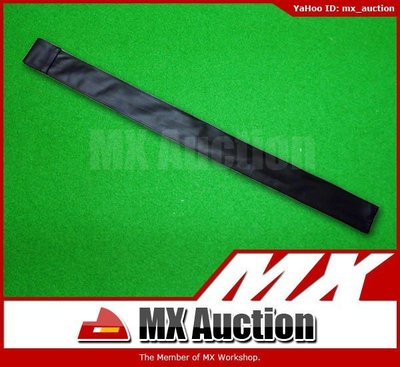 MX Auction - [SB-001] 仿皮 Snooker Cue 3/4 桿袋 Cue袋 桌球桿袋 桌球杆袋  英式 美式 (黑色)