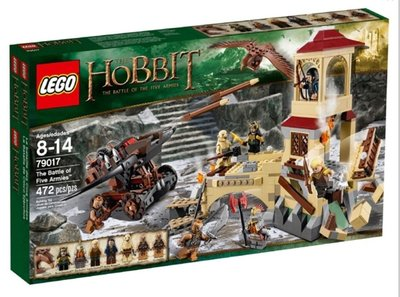 Lego 79017 Hobbit - The Battle of Five Armies 全新 (new sealed) #79018 79012