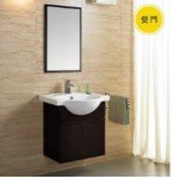 誠寶衛浴   KARAT  防水實木浴櫃鏡組(不含水龍頭) OPERA歐普拉貴族系列(雙門款)