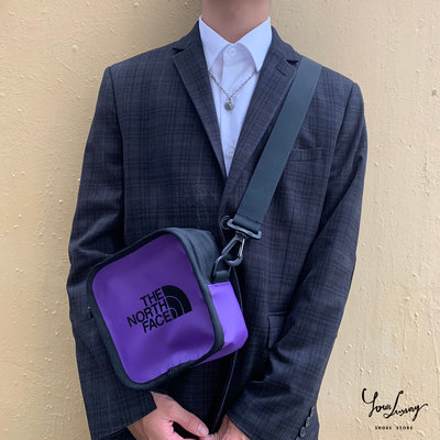 【Luxury】北臉方包 斜背小方包 防潑水材質 豆腐包 穿搭型 郵差包 腰包 大容量 側肩包 單肩包 小包 TNF