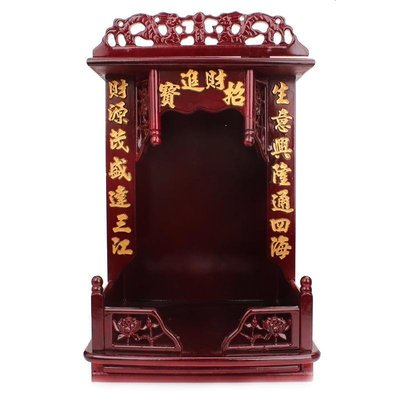 好物多商城 財神爺觀音菩薩佛龕佛盒佛樓立柜供桌供奉佛像現代供臺家用