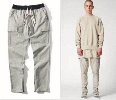 Fear Of God FOG ESSENTIALS Drawstring CARGO Pants工裝抽繩長褲
