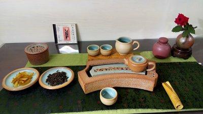 (店舖不續租清倉大拍賣)陳永皓先生--窗花茶具一組,原價38000元特價19000元