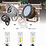 香檳金MR16 投射壁燈吸頂燈☀MoMi高亮度LED台灣製☀5W/7W/9W/10W=取代傳統鹵素100W可改固定軌道燈