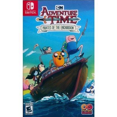 【一起玩】 NS Switch 探險活寶:海盜的英雄寶典 英文美版 Adventure Time: Pirates