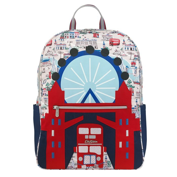 Ariel Wish預購英法代購Cath Kidson英國倫敦鐵橋倫敦塔橋雙層巴士倫敦眼後背包雙肩包倫敦限定版9/30寄