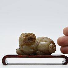【聽竹軒】和闐玉雕刻獅