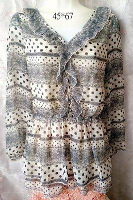 lace 冬季長袖上衣 Winter long-sleeved top 雪紡衫 Chiffon shirt