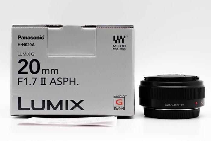 【高雄青蘋果3C】Panasonic LUMIX G 20mm F1.7 II ASPH 二手鏡頭 定焦鏡 #28179