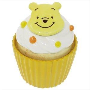 4165本通 迪士尼 陶瓷罐 (杯子蛋糕造型) 小熊維尼 瑪麗貓 米奇 奇奇蒂蒂 下標前請詢問