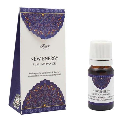 [綺異館]印度香氛精油 正能量(水果香) 10ml JAIN'S NEW ENERGY PURE 另售印度皂 印度香