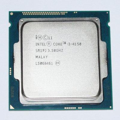 【大媽電腦】1150腳位 Intel Core i3-4150 雙核心 CPU 3.5G