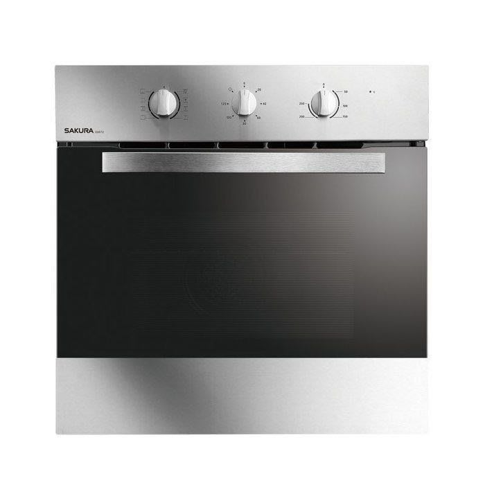 櫻花 E6672 嵌入式電烤箱 不鏽鋼旋風 8段烤程烹飪 220V 基本安裝加600