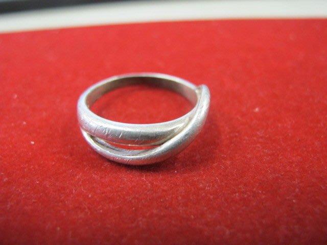 二手舖 NO.1338 純銀925 造型戒指