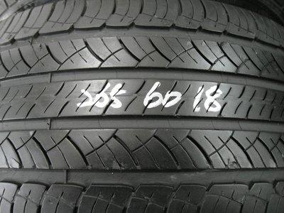 【宏勝輪胎】中古胎 落地胎 維修 保養 底盤 型號:265 60 18 米其林HP 2條