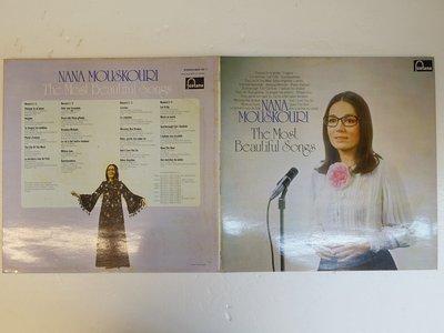 【柯南唱片】nana mouskouri(娜娜·穆斯庫莉)2片裝>>荷版LP