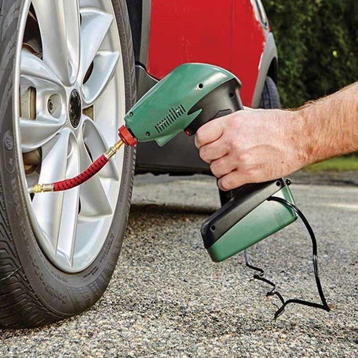 Tv商品 可擕式車載充氣泵 迷你充氣泵 數字顯示螢幕 輪胎充氣泵 打氣筒