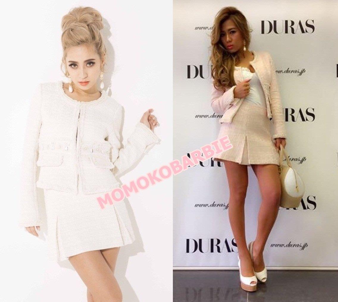 ☆搖滾甜心【AE0533】日本貴品牌日單emiriawiz duras超美小香風外套+短裙 set up套裝RADY