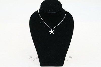 【遠麗】台北大安店~A7522 tiffany & co 海星 925 純銀 項鍊 真品 /正品