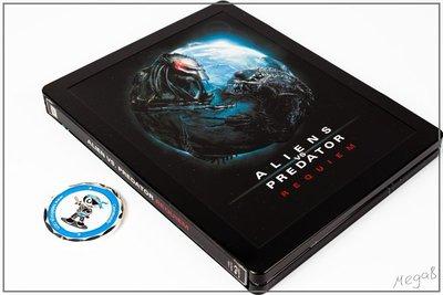 毛毛小舖--現貨 藍光BD 異形戰場2 限量鐵盒版 Alien Vs. Predator : AVP 2