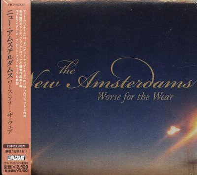 K - THE NEW AMSTERDAMS - Worse For The Wear - 日版 - NEW