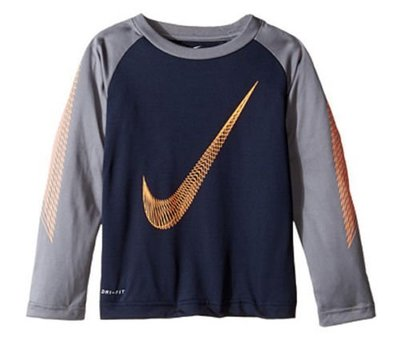 Nike男童長T DRI-FIT 尺寸5歲