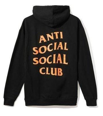 【日貨代購CITY】2017AW Anti Social Social Club LOGO 帽TEE 黑橘 現貨