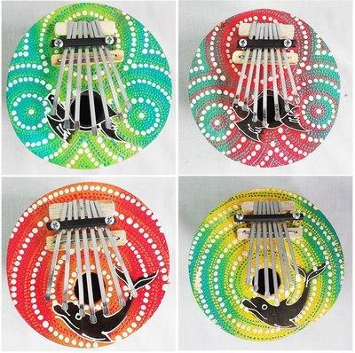 【自然傳統樂器屋】Kalimba 椰殼拇趾琴 手指鋼琴 拇指琴 非洲 峇里島-採隨機出貨!