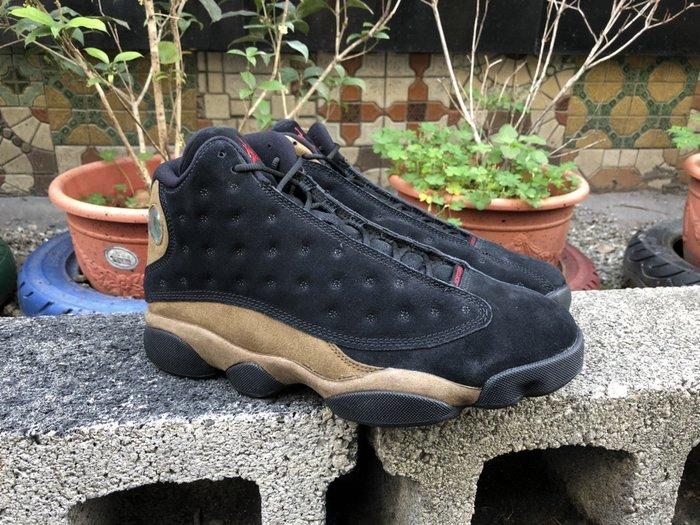 玉米潮流本舖 AIR JORDAN 13 RETRO 414571-006 橄欖綠 黑棕 麂皮 軍事風 喬丹13代籃球鞋