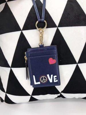 SUNDAY 代購 美國正品 Tory burch LOVE愛心系列 小挂包 吊牌包
