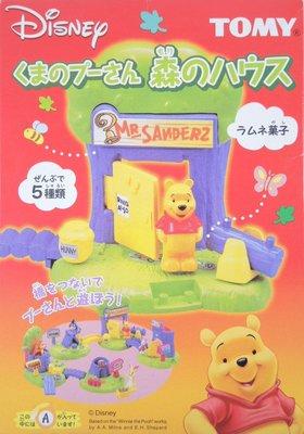 ☆星息xSS☆TOMY 迪士尼 小熊維尼 食玩 森林場景組 全套五款 G2