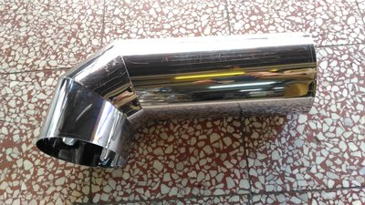 {水電材料行}~[廚房零件]~白鐵 一尺加彎頭 ST油管 排煙管 排風管塑膠管 抽油煙機 風管