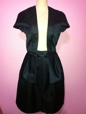 CARVEN 藍色立體洋裝/晚禮服/伸展台洋裝(30)