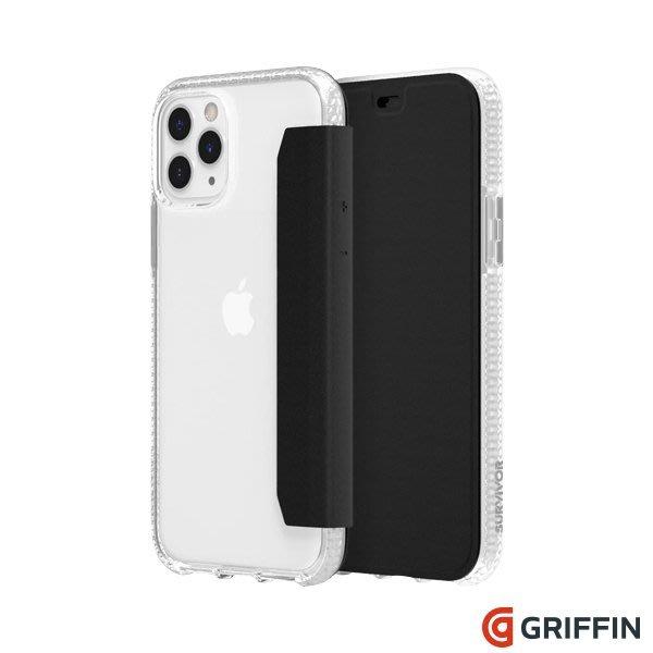 Griffin Survivor Clear Wallet iPhone 11 Pro Max 透明背套 防摔側翻皮套
