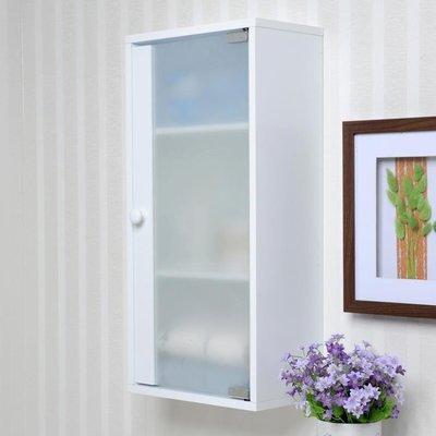 浴室置物櫃防潮浴室儲物吊櫃陽臺掛櫃廚房壁櫃簡約收納薄櫃衛生間防水掛墻櫃