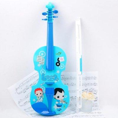 電子仿真音樂小提琴玩具女孩禮物手提琴兒童初學者樂器 JY