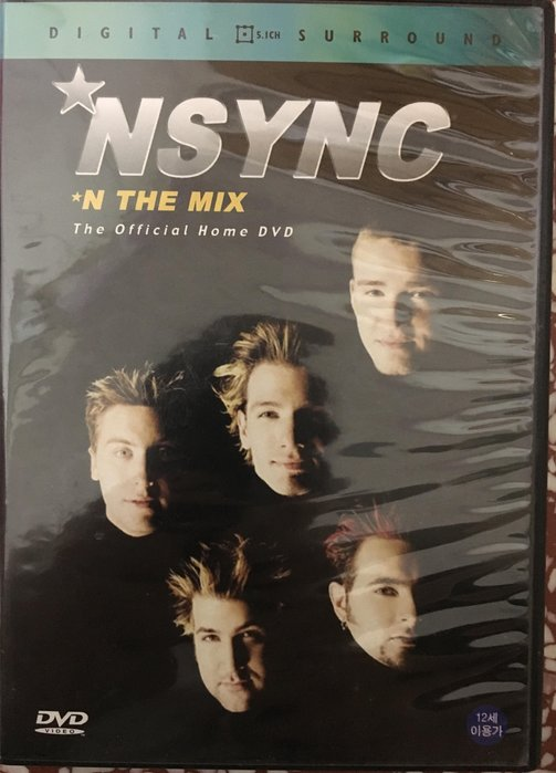 《99%新》N sync 超級男孩 N The Mix  MV+Live DVD