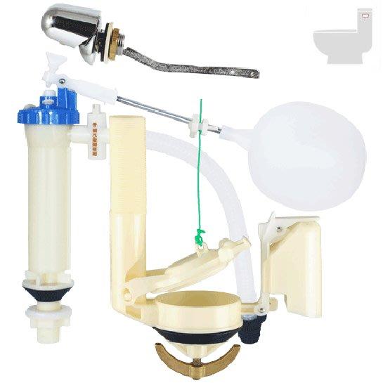 【達人水電廣場】單體馬桶水箱零件 側壓 落水器 單體馬桶水箱進水器 和成 (替代品) 單體水箱全配件