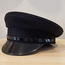 Obsolete British Style Law Enforcement Officer Peaked Cap