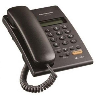 Panasonic  國際牌 KX-TSC62   黑色     來電顯示免持有線電話免裝電池功能等同KX-T7705