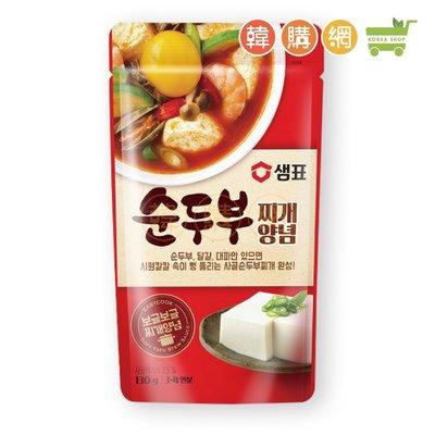 韓國膳府韓式辣豆腐湯底130g【韓購網】