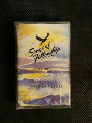 錄音帶 /卡帶/ IC48 / 演奏 /HE IS EXALTED-VOLUME 2 / SONGS OF FELLPWSHIP/ 非CD非黑膠
