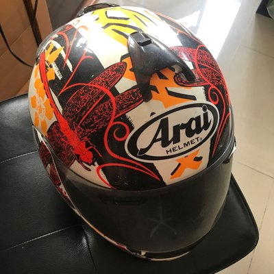 超新淨Arai頭盔61.62CM