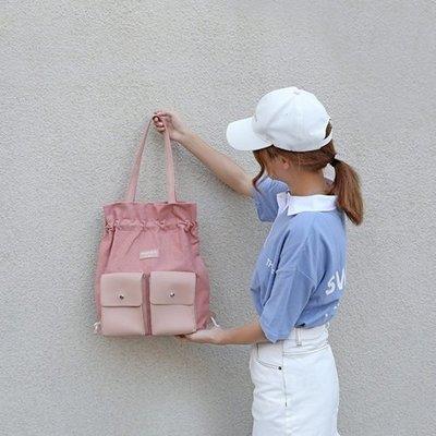 手提包 帆布單肩包-多功能厚實純棉大容量女包包6色73xb48[獨家進口][米蘭精品]
