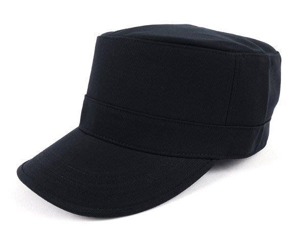 買10送1~MIT優質台灣製『硬挺加厚』潮流素面造型軍帽新款 廚師帽 -加高硬挺時尚新風格 /黑色 硬挺 軍帽-MIT